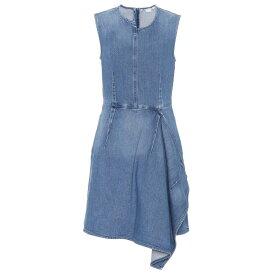 ステラ マッカートニー Stella McCartney レディース ワンピース・ドレス ワンピース【Ciara denim minidress】Classic Blue
