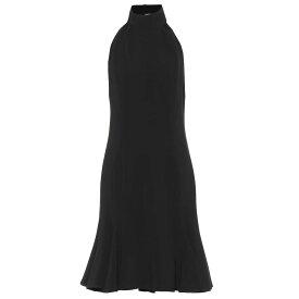 ステラ マッカートニー Stella McCartney レディース ワンピース・ドレス ワンピース【Stretch jersey minidress】Black