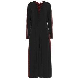ステラ マッカートニー Stella McCartney レディース ワンピース・ドレス ワンピース【Crepe maxi dress】MIDNIGHT