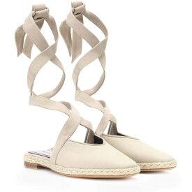 J.W.アンダーソン JW Anderson レディース シューズ・靴 サンダル・ミュール【Canvas lace-up sandals】Flax