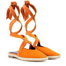 J.W.アンダーソン JW Anderson レディース シューズ・靴 サンダル・ミュール【Canvas lace-up sandals】Carrot
