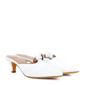 マリアム ナッシアー ザデー Maryam Nassir Zadeh レディース シューズ・靴 サンダル・ミュール【Palo leather mules】White