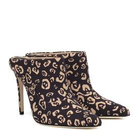 アルチュザラ Altuzarra レディース シューズ・靴 サンダル・ミュール【Davidson leopard-printed mules】Black
