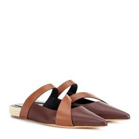 J.W.アンダーソン JW Anderson レディース シューズ・靴 スリッパ【Leather slipper】Chocolate Brown