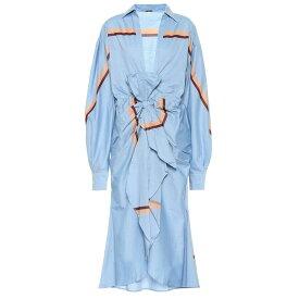 ジョアンナオッティ Johanna Ortiz レディース 水着・ビーチウェア ビーチウェア【Cocoa Beach cotton poplin dress】Maldives Blue Sunburn