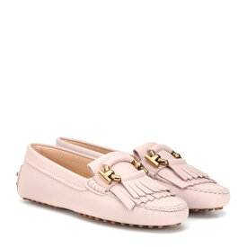トッズ Tod's レディース シューズ・靴 ローファー・オックスフォード【Leather loafers】Glove