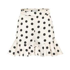 ジョアンナオッティ Johanna Ortiz レディース ボトムス・パンツ ショートパンツ【San Blas polka-dot cotton shorts】Ecru Black Dots