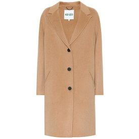 ケンゾー Kenzo レディース アウター コート【Wool coat】dark beige