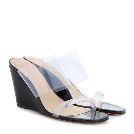 マリアム ナッシアー ザデー Maryam Nassir Zadeh レディース シューズ・靴 サンダル・ミュール【Olympia wedge sandals】Black