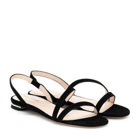 ニコラス カークウッド Nicholas Kirkwood レディース シューズ・靴 サンダル・ミュール【Casati pearl suede sandals】Black