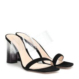 ニコラス カークウッド Nicholas Kirkwood レディース シューズ・靴 サンダル・ミュール【Peggy suede sandals】Black