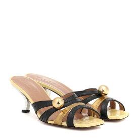 マルニ Marni レディース シューズ・靴 サンダル・ミュール【Leather sandals】