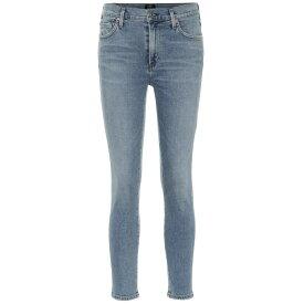 シチズン オブ ヒューマニティ Citizens of Humanity レディース ボトムス・パンツ ジーンズ・デニム【Rocket Crop high-rise skinny jeans】Serenity
