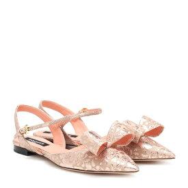 ロシャス Rochas レディース シューズ・靴 スリッポン・フラット【Brocade ballet flats】powder
