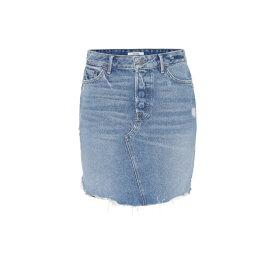 ガールフレンズ Grlfrnd レディース スカート ミニスカート【Rhoda high-rise denim miniskirt】passenger slide
