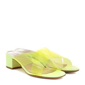 マリアム ナッシアー ザデー Maryam Nassir Zadeh レディース シューズ・靴 サンダル・ミュール【Lauren leather sandals】sun fluorescent