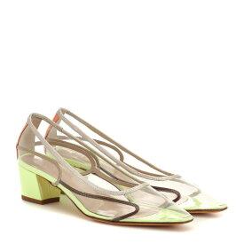 マリアム ナッシアー ザデー Maryam Nassir Zadeh レディース シューズ・靴 パンプス【Naima leather pumps】sun fluorescent