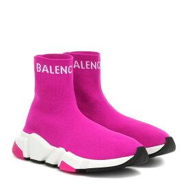 バレンシアガ Balenciaga レディース シューズ・靴 スリッポン・フラット【Speed sneakers】Fuchsia White