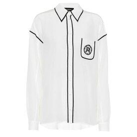 ロシャス Rochas レディース トップス ブラウス・シャツ【Silk shirt】Natural