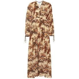 ナヌシュカ Nanushka レディース ワンピース・ドレス ワンピース【Hazel printed cotton maxi dress】Animal Douvet
