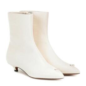 マルニ Marni レディース シューズ・靴 ブーツ【Leather ankle boots】