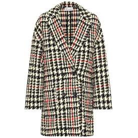 レッド ヴァレンティノ REDValentino レディース アウター コート【Houndstooth wool-blend coat】Nero