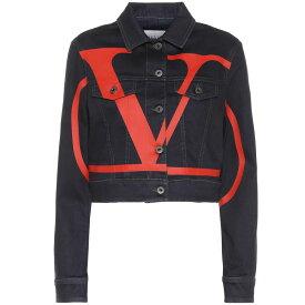 ヴァレンティノ Valentino レディース アウター ジャケット【Deconstructed VLOGO denim jacket】