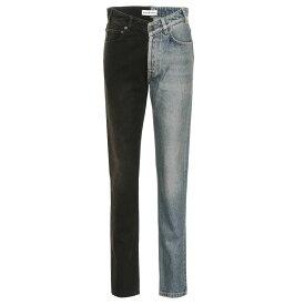 バレンシアガ Balenciaga レディース ボトムス・パンツ ジーンズ・デニム【High-rise straight jeans】Light Rust Indigo