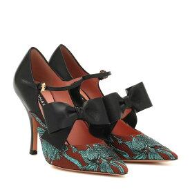 ロシャス Rochas レディース シューズ・靴 パンプス【Brocade and leather pumps】Mattone
