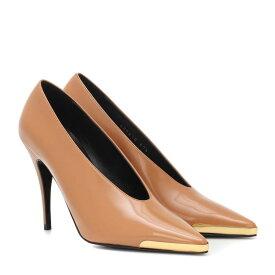 ステラ マッカートニー Stella McCartney レディース シューズ・靴 パンプス【Patent faux leather pumps】Russet