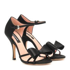 ロシャス Rochas レディース シューズ・靴 サンダル・ミュール【Satin sandals】Nero