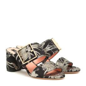 ロシャス Rochas レディース シューズ・靴 サンダル・ミュール【Brocade sandals】Nero-Oro
