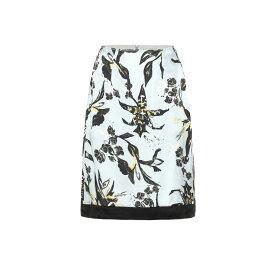 ドロシー シューマッハ Dorothee Schumacher レディース スカート ひざ丈スカート【Tamed Florals silk-blend skirt】Blue White Pekish Flower