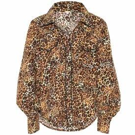 ジョアンナオッティ Johanna Ortiz レディース トップス ブラウス・シャツ【Leopard-print cotton shirt】Leopard Classic