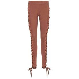 プーマ Fenty by Rihanna レディース スパッツ・レギンス レースアップ インナー・下着【Boxing & Bomber lace-up leggings】Friar Brown