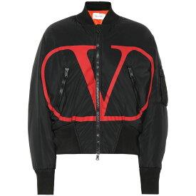 ヴァレンティノ Valentino レディース ブルゾン ミリタリージャケット アウター【VLOGO nylon bomber jacket】