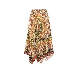 エトロ Etro レディース ひざ丈スカート スカート【Paisley wool and silk skirt】
