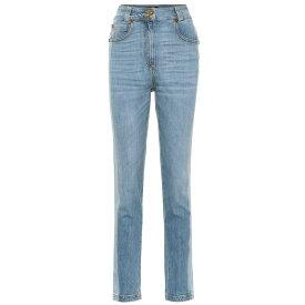 ヴェルサーチ Versace レディース ジーンズ・デニム ボトムス・パンツ【High-rise skinny jeans】Light Blue