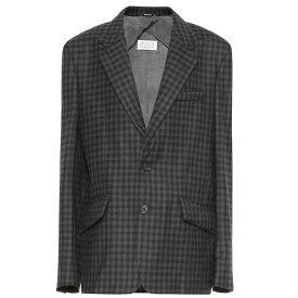 メゾン マルジェラ Maison Margiela レディース スーツ・ジャケット アウター【checked wool-blend blazer】Check Blue/Grey