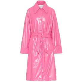 メゾン マルジェラ MM6 Maison Margiela レディース トレンチコート アウター【oversized trench coat】Barbie Pink