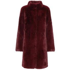 ベルベット グラハム&スペンサー Velvet レディース コート アウター【mina faux fur reversible coat】Burgundy