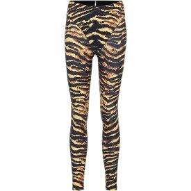 アダム セルマン Adam Selman Sport レディース スパッツ・レギンス インナー・下着【French Cut tiger-print leggings】Tiger