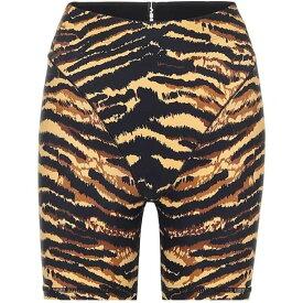 アダム セルマン Adam Selman Sport レディース ショートパンツ ボトムス・パンツ【French Cut biker shorts】Tiger
