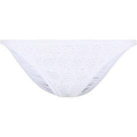 トリー バーチ Tory Burch レディース ボトムのみ 水着・ビーチウェア【Broderie Hipster bikini bottoms】White