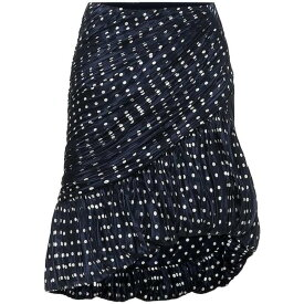 トリー バーチ Tory Burch レディース ミニスカート スカート【Polka-dot silk skirt】Classic Dot