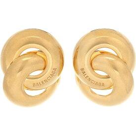 バレンシアガ Balenciaga レディース イヤリング・ピアス ジュエリー・アクセサリー【Twin gold-toned earrings】
