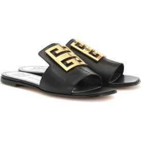 ジバンシー Givenchy レディース サンダル・ミュール シューズ・靴【4G leather sandals】Black