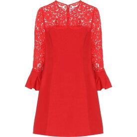 ヴァレンティノ Valentino レディース ワンピース ワンピース・ドレス【lace wool and silk-blend dress】