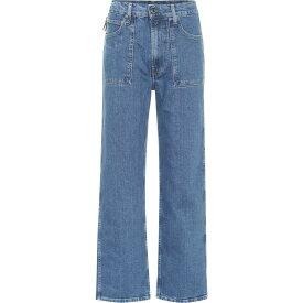 ヘルムート ラング Helmut Lang レディース ジーンズ・デニム ボトムス・パンツ【factory high-rise straight leg jeans】Light Sioux