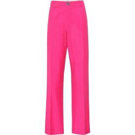 ロエベ Loewe レディース ボトムス・パンツ 【High-Rise Wool Pants】Pink